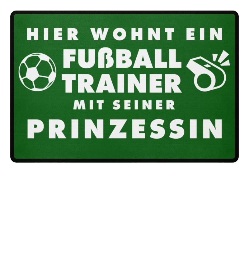 Fussball Trainer Prinzessin Fussmatte Fussmatten Geschenk