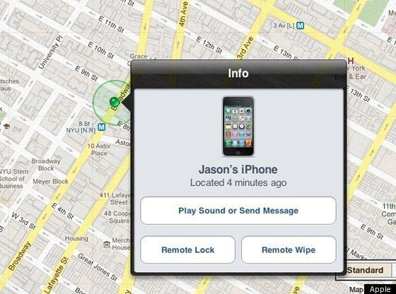 APPLEICLOUDFINDMYIPHONEIOS5 Find my phone, Tracking