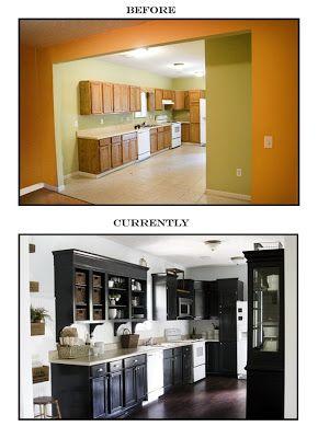 Guest Post By Mr Lettered Cottage The Lettered Cottage Builder Grade Kitchen Home House