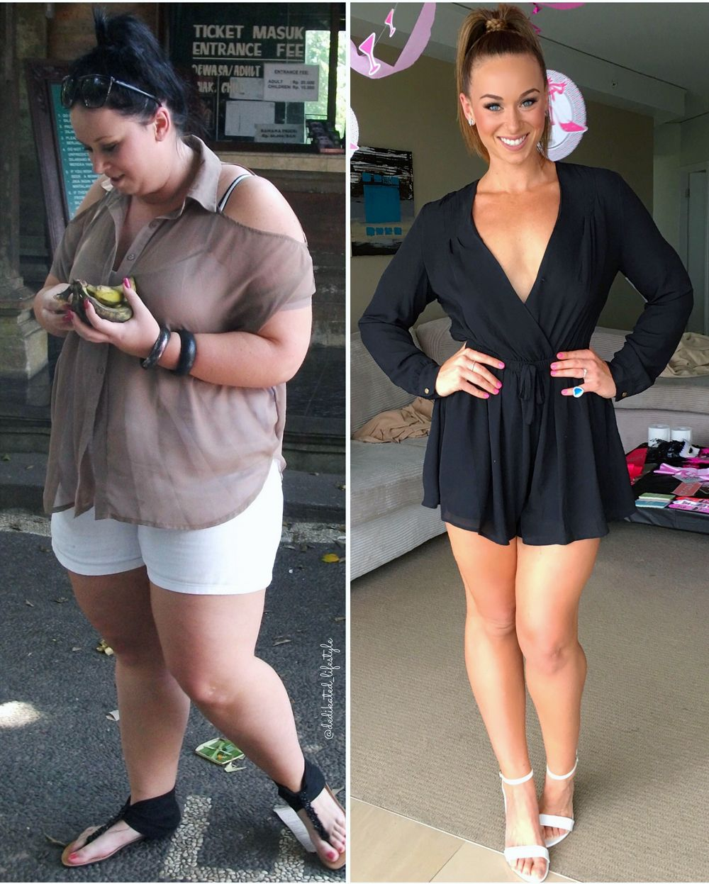 Kate Writer's Full Training & Diet Plan For How She Lost Over 50KGs In 1 Year -   8 1 year fitness Transformation