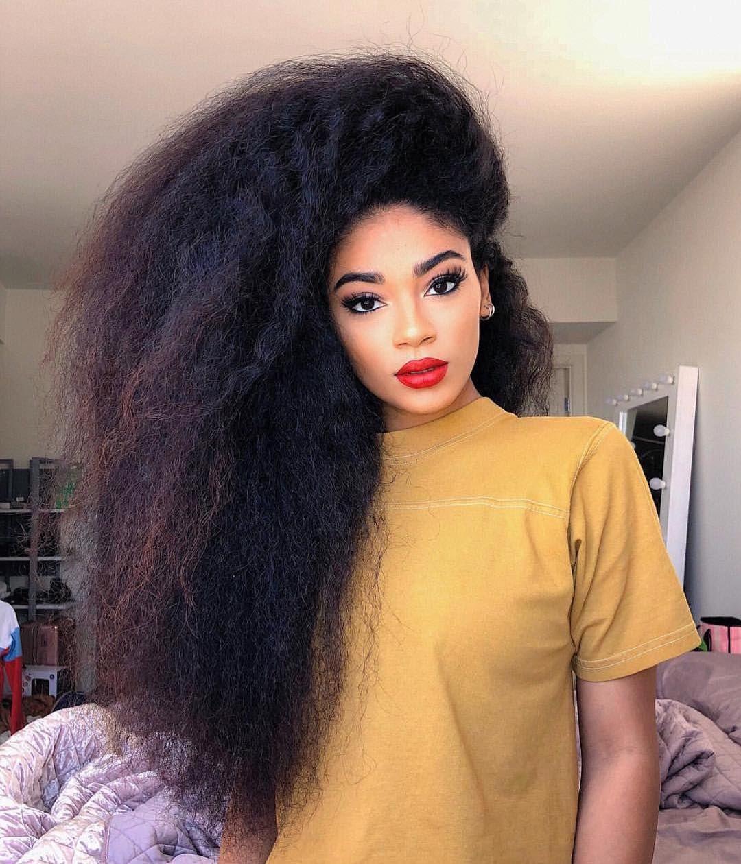 Super Thick Hair Mode Natural Hair Styles Long