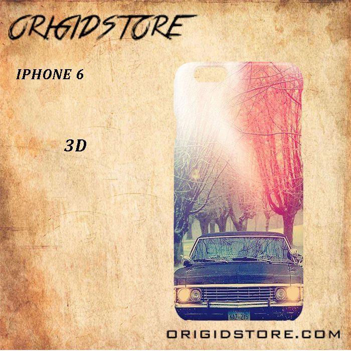 Supernatural Car For Iphone 6 Case Gift Present - Multiple Choice Material