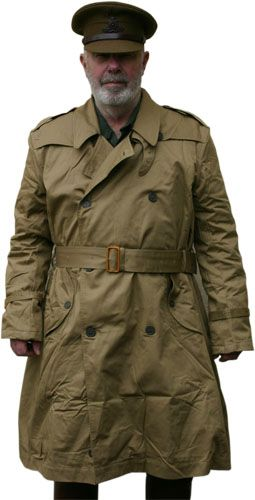 Early Style British Military Trench Coat reproduction from What ...