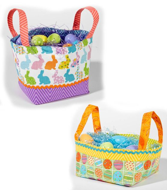 Fabric easter baskets free pattern easter baskets free pattern fabric easter baskets free pattern negle Gallery