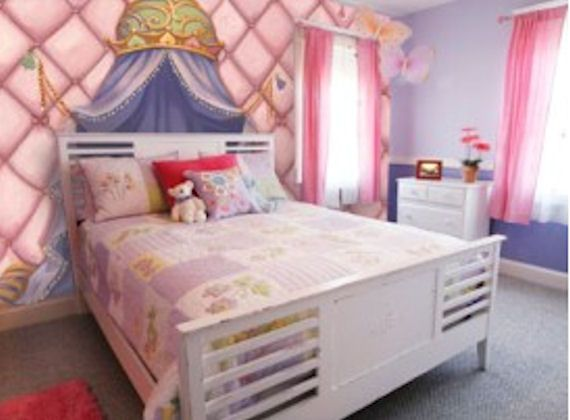 Princess Canopy Wall Mural C863   Wall Sticker Outlet Part 95