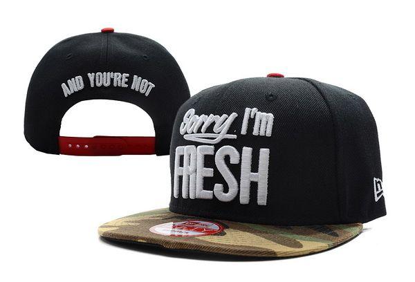 Cheap Wholesale Sorry I m Fresh Strapback Hats Girl s And Boy s pop  Adjustable Baseball street eb2581efd54