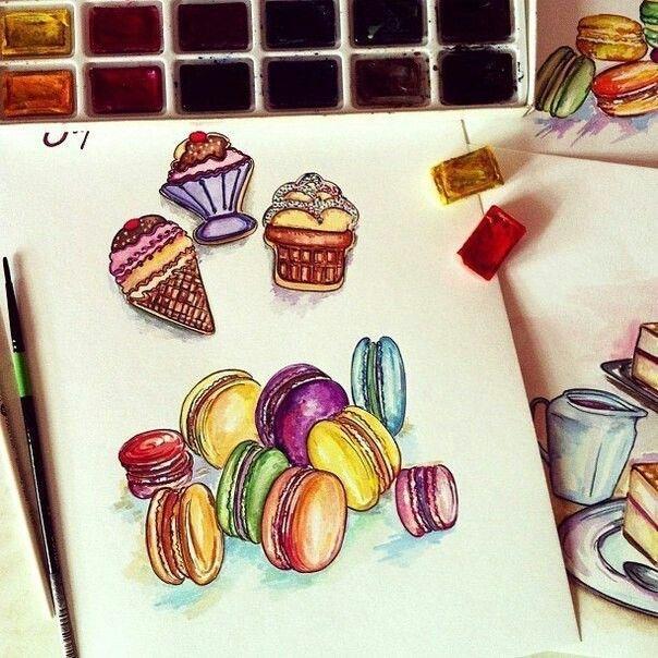 картинки с сладостями карандашом еще определились выбором