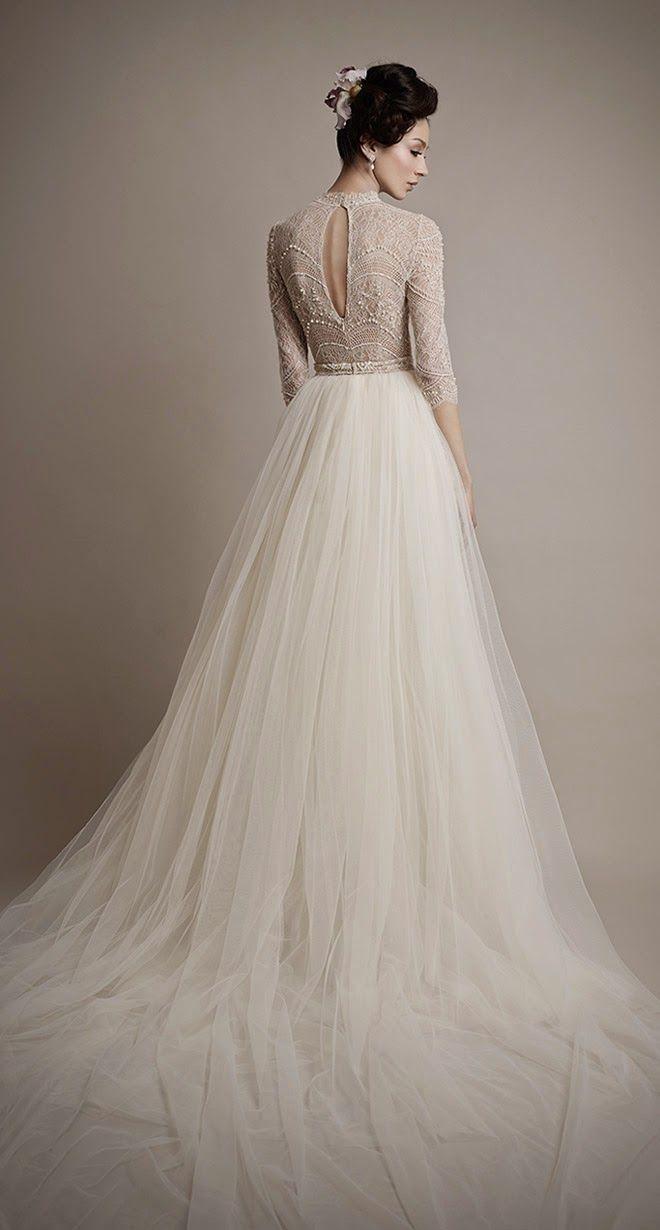Ultra Romantic Tulle Wedding Dresses Wedding dress Atelier and