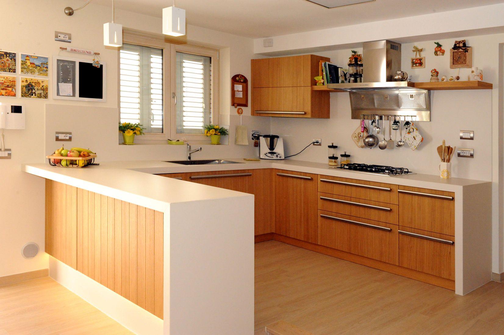 Cucine Rovere Sbiancato Moderne: Cucina bea l 315 h 216 sl ...