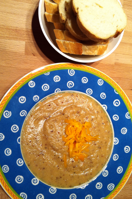 Cauliflower Potato Soup- delicious, easy & nutritious
