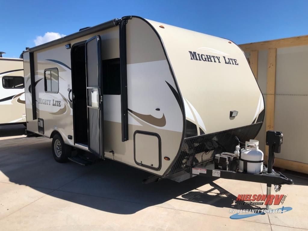 Used 2018 Pacific Coachworks Mighty Lite 16rb Travel Trailer At