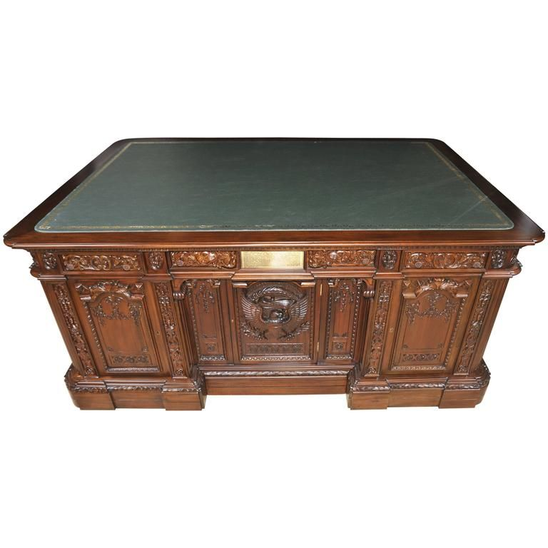 Mahogany Presidents Partners Desk Resolute Replica   From a unique  collection of antique and modern desks at ... - Mahogany Presidents Partners Desk Resolute Replica The Office