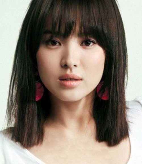 short asian hairstyles for women 39-min   Medium hair ...