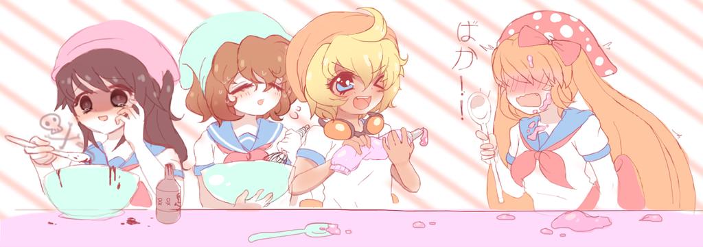 Cupcakes For Senpai Inspiration Sweet Magic Characters Ayano Aishi