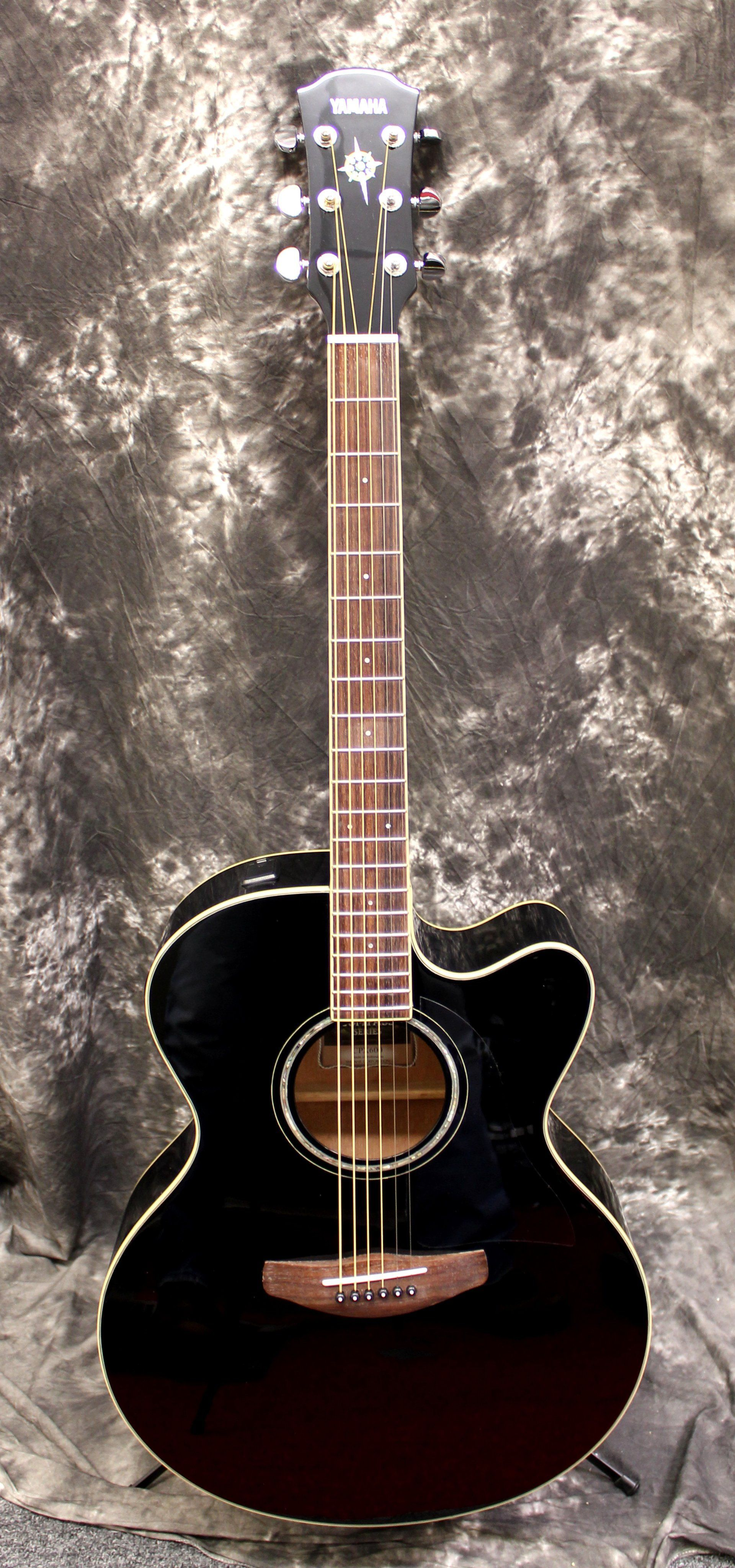 Yamaha Cpx 600 Black Acoustic Electric Guitar Acoustic Electric Guitar Guitar Acoustic Electric
