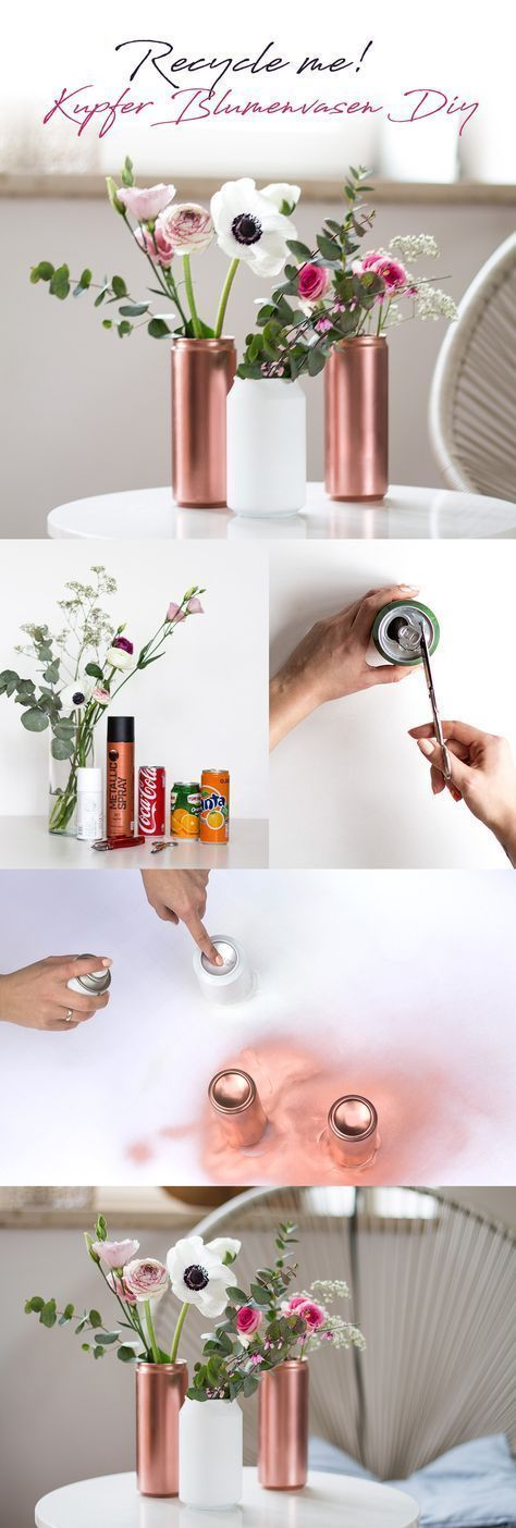Photo of Prepare me – homemade copper flower vase – #copper #Creative #flower #Homemade #… – UPCYCLING IDEAS