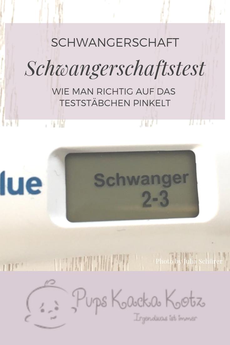 Negativ falsch ss test Schwangerschaftstest negativ:
