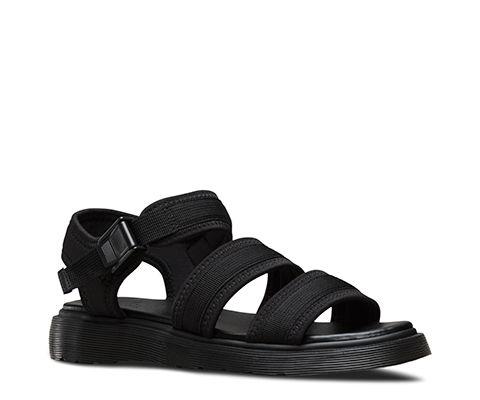 EFFRA BLACK 21136001 | Trendy sandals, Strap sandals, Sandals
