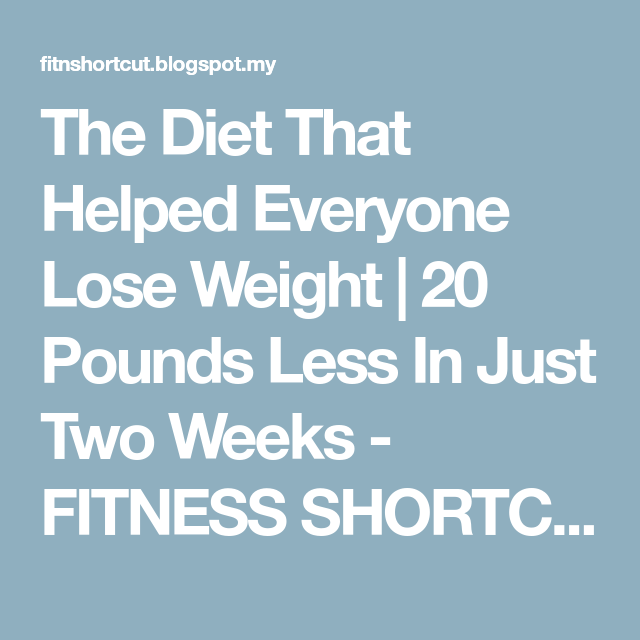 I want to reduce my weight immediately