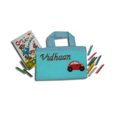 Birthday Return Gifts Art Tote To Put In All The Supplies Of Your Little Artist