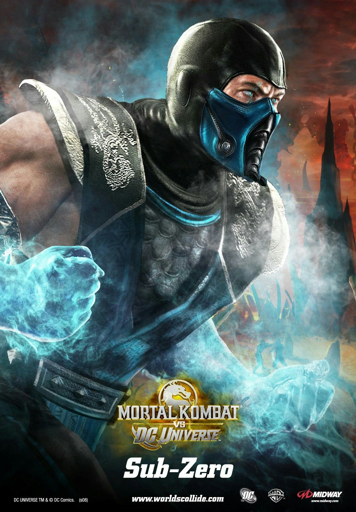 Mortal kombat vs dc universe mortalkombat dc movie