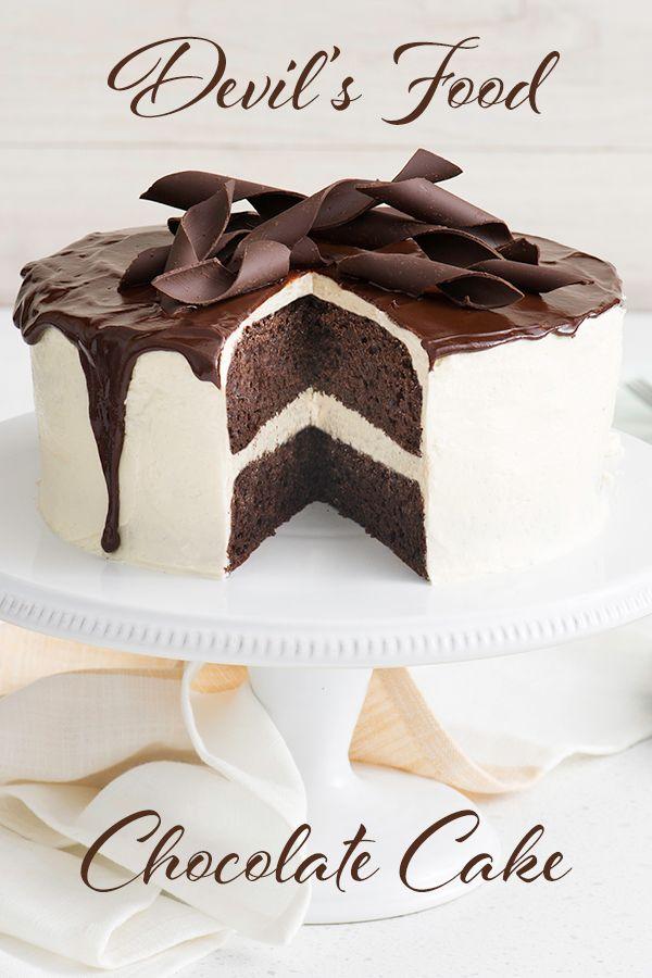 devils food cake recept