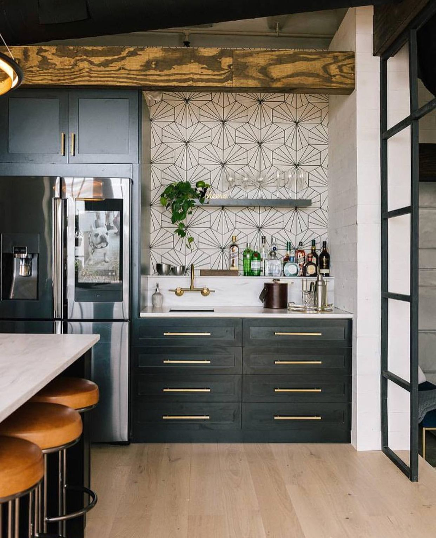 bobby berk kitchen   loft kitchen, kitchen design, rustic