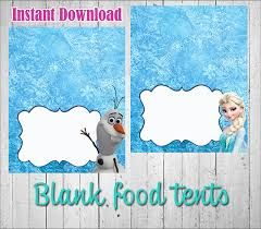 photograph regarding Frozen Party Food Labels Free Printable named Graphic outcome for frozen free of charge printables meals labels