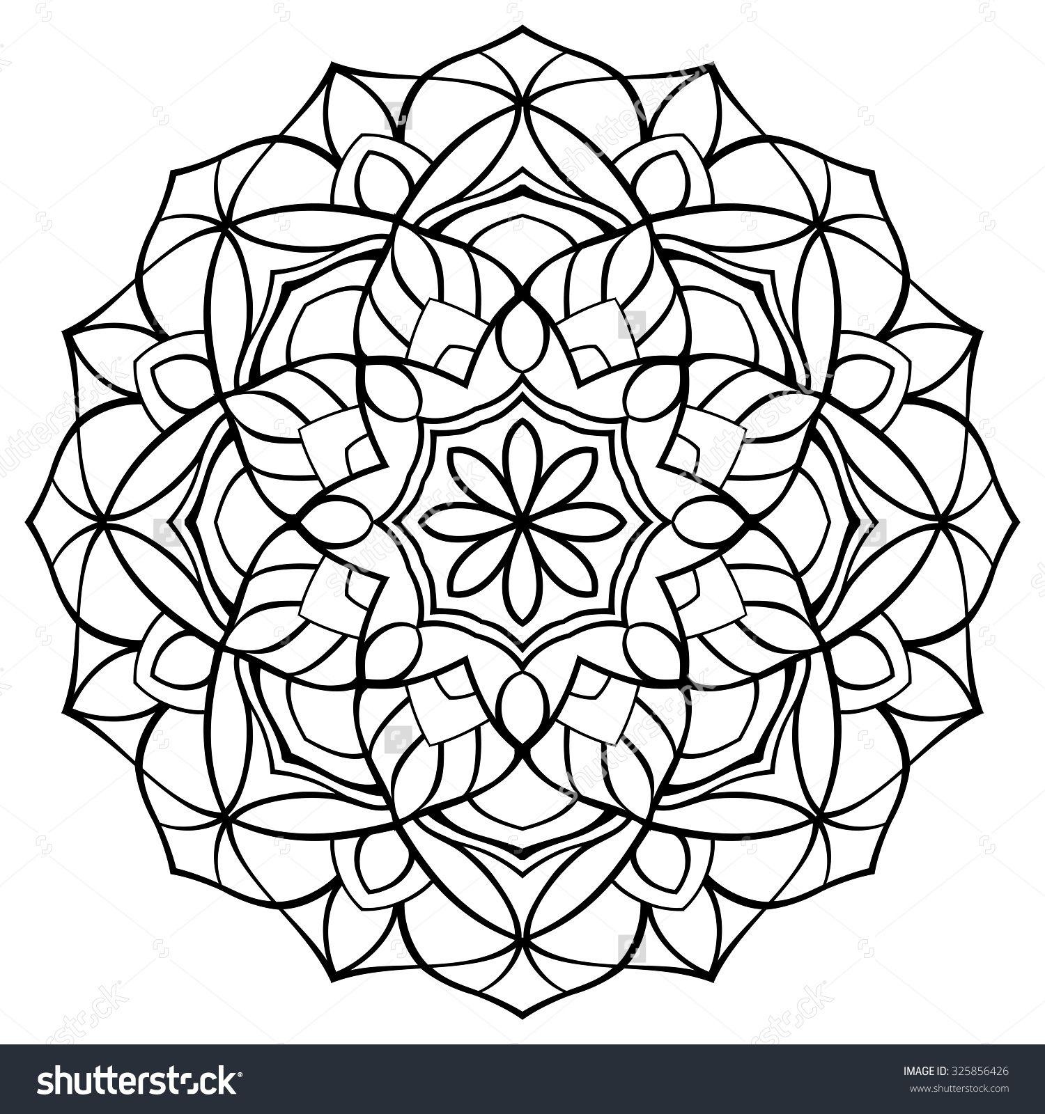 Mandala Template - Virtren.com