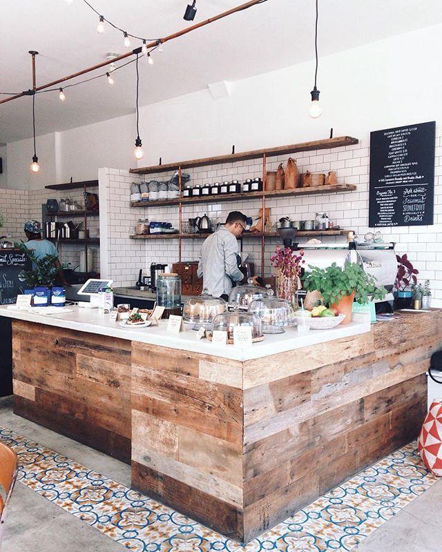Stonefruit Express NYC #cafe #coffeeshop Photo by @heydavina DIY - technolux design küchen
