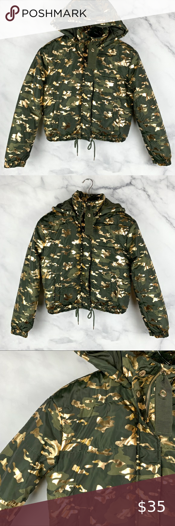 Nwt Ashley Outerwear Gold Camo Puffer Jacket Boho In 2021 Camo Puffer Jacket North Face Puffer Jacket Bodycon Dress With Sleeves [ 1740 x 580 Pixel ]