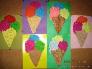Free Ice Cream Craft For Kids 2