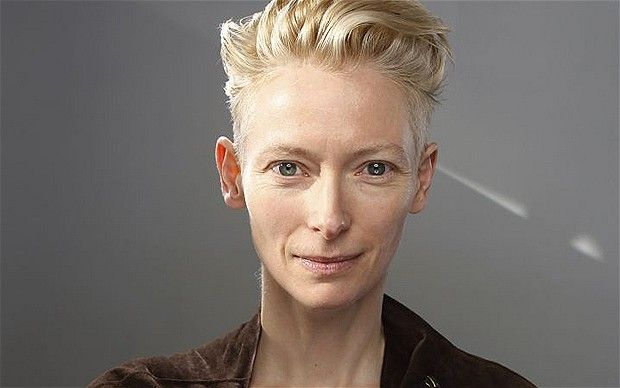 Tilda - for me she will always be the Ice Queen and Gabriel. I think she is by far the queen of gender bending