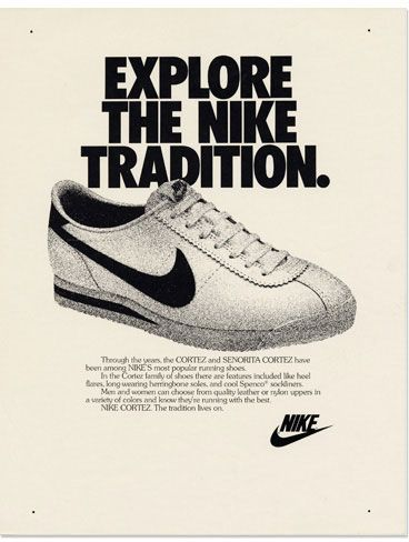Nike Cortez 1972 Shoe Advertising Nike Cortez Nike Ad