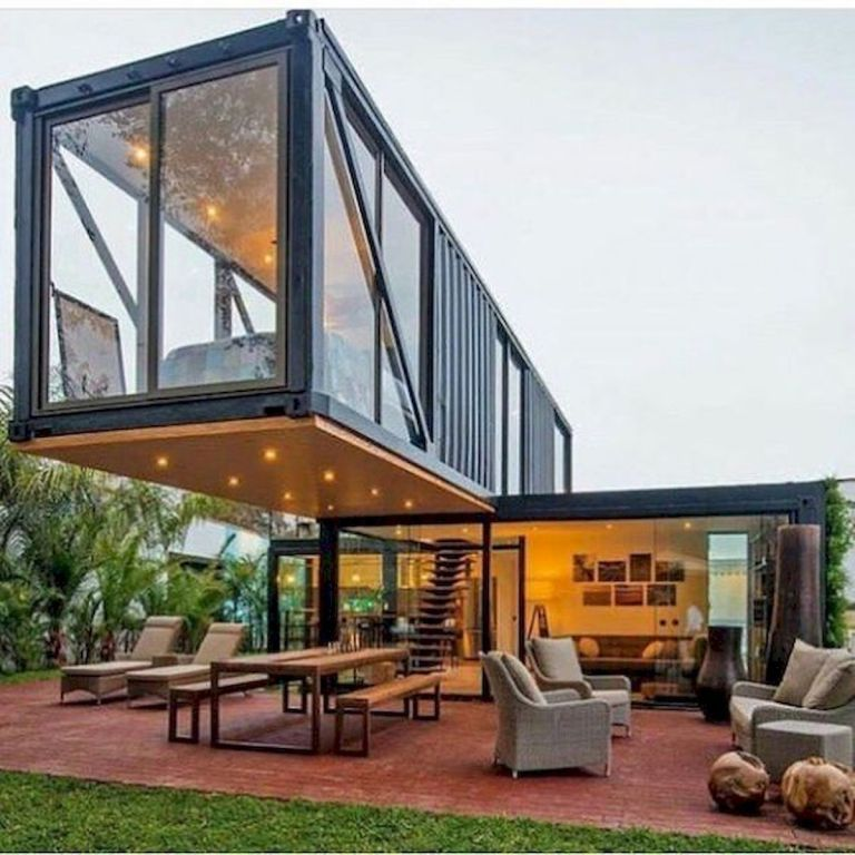 Shipping Container Houses Ideas, Shop, Garage, Workshop, Etc -   15 garden design Architecture shipping containers ideas