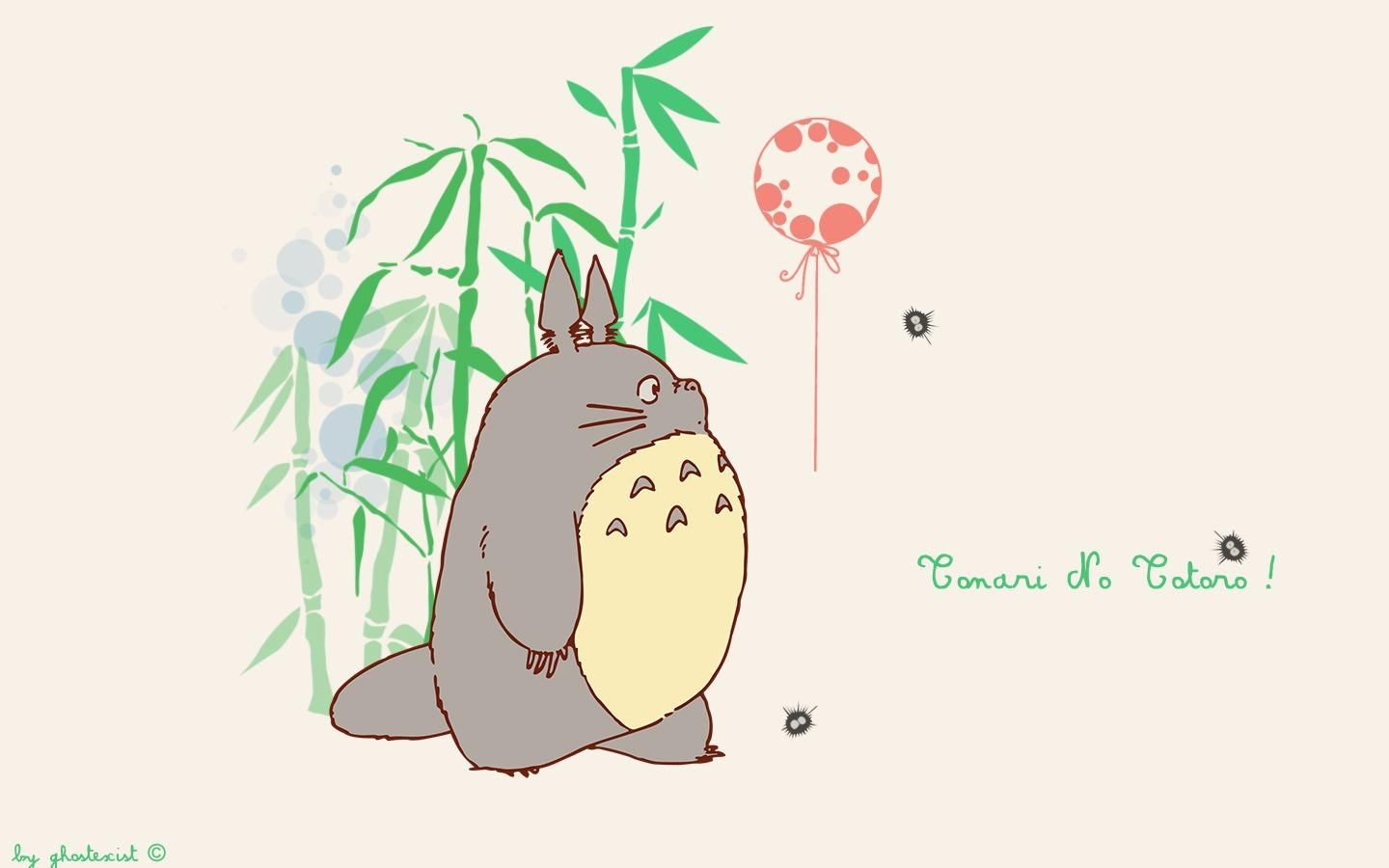 My neighbor Totoro My Neighbor Totoro Wallpaper And Balloon