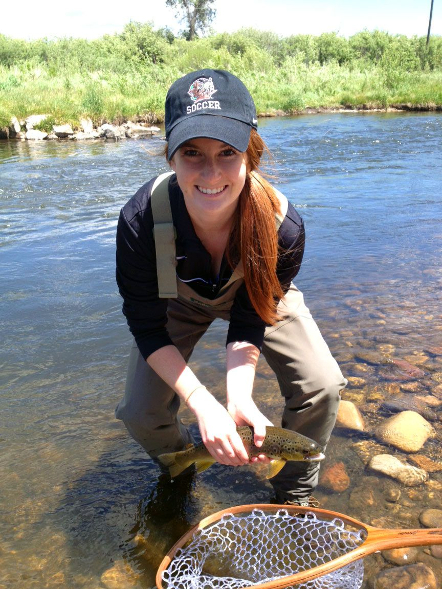 Just for the Girls: Getting a little more adventurous ...  Girls Fly Fishing