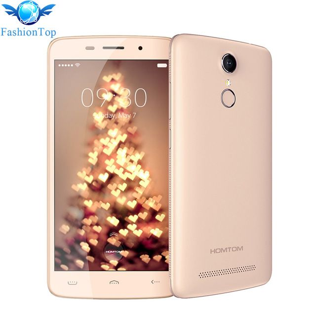 Special offer HOMTOM HT17 Pro 5 5 inch Android 6 0 MT6737 4G