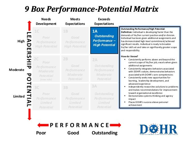 9 Box Matrix Leadership Books Human Resources Development