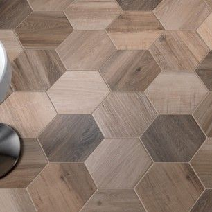 Isla King Wood Esagona Multi Wood Look Tile Wood