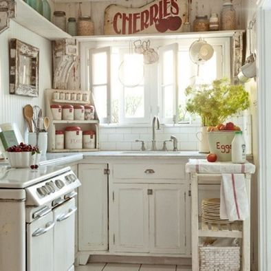 Kitchen for a Small Cottage Kitchen Pinterest Small cottages