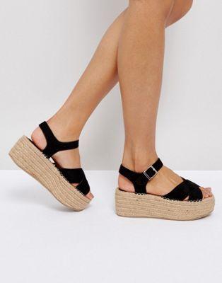 b3e56bf8fa8 Boohoo Espadrille Platform Sandal