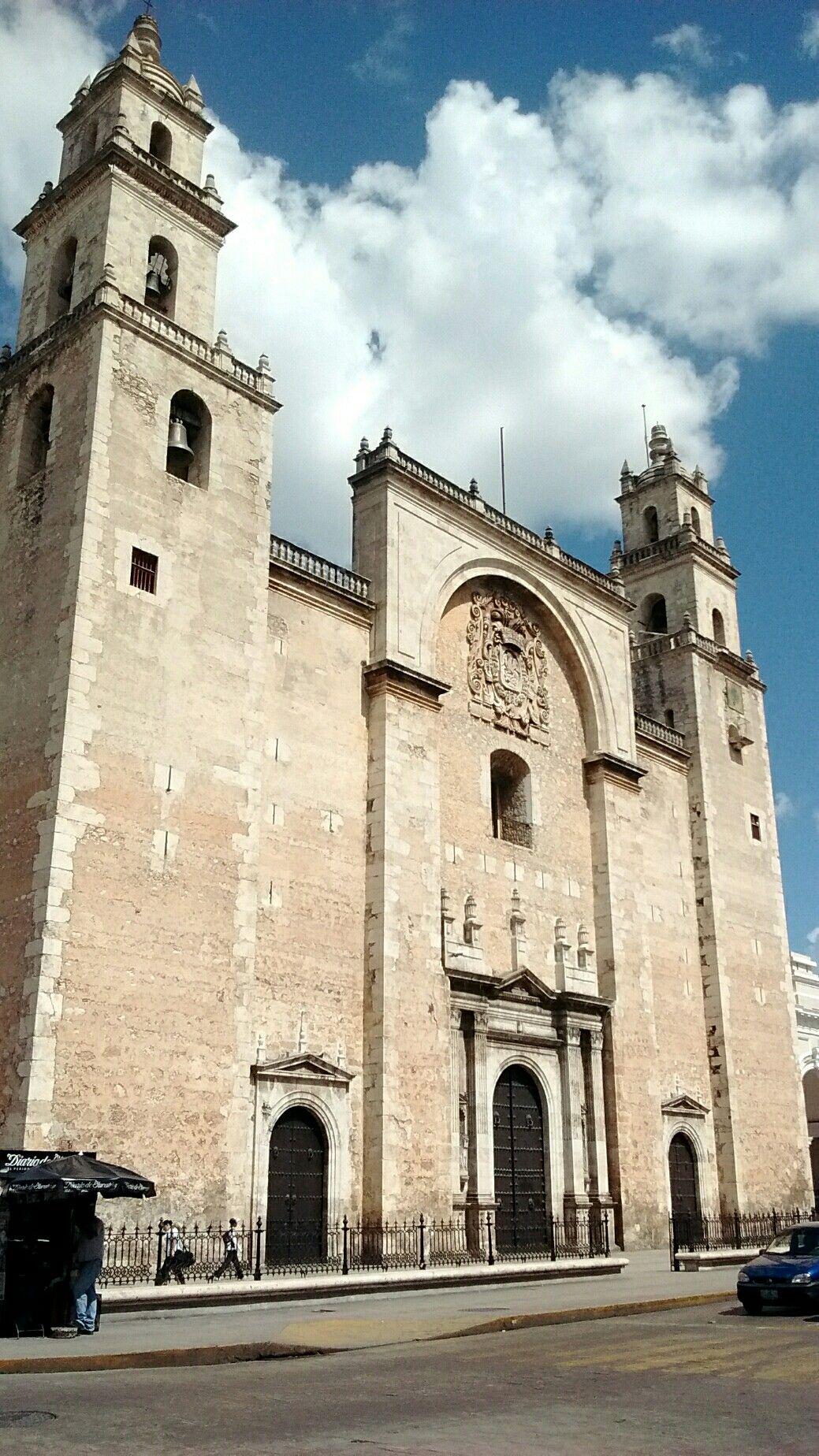 Catedral,  de Mérida Yucatan