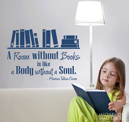 Wall Quote Decal The Life Of A Book Junkie Pinterest Books - Vinyl wall decals books