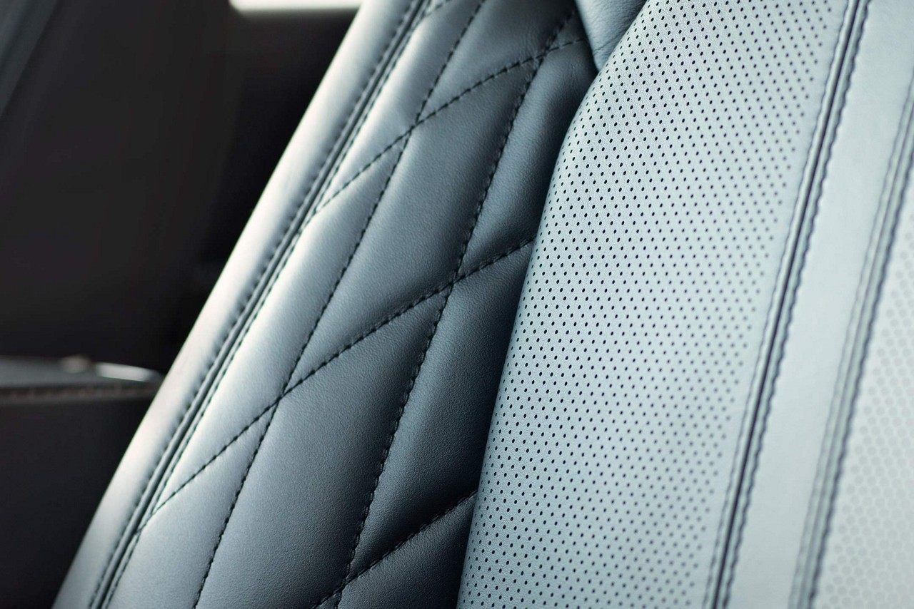 The 2018 Ford Expedition Platinum with perforated leather