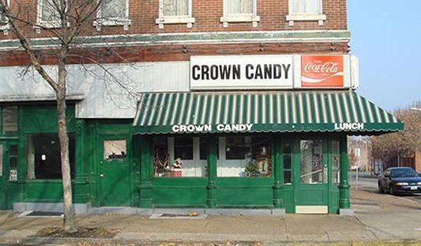 Crown Candy Kitchen - St. Louis (Milkshakes) | Our Man Vs. Food ...