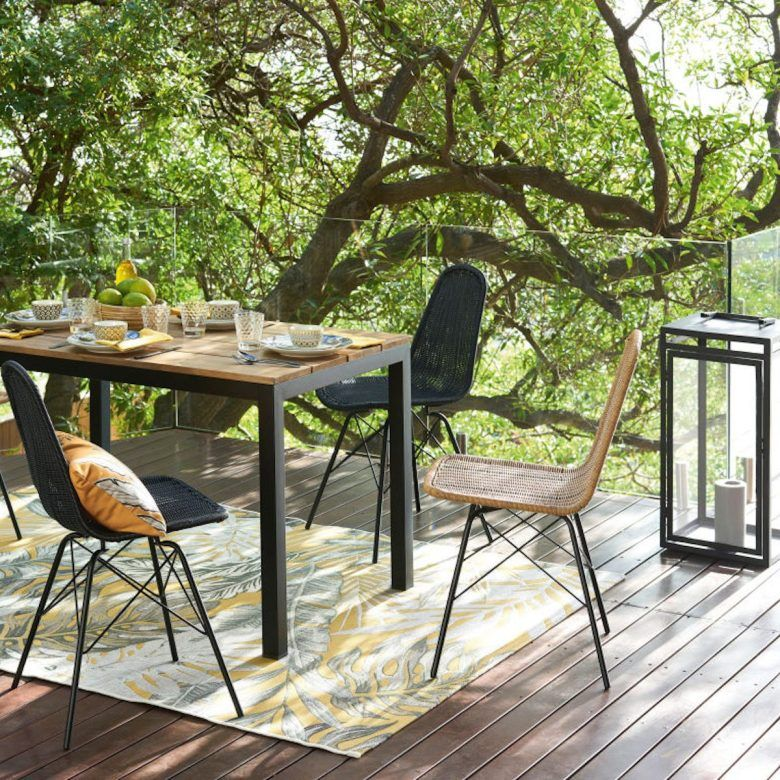 Avis Mobilier Outdoor Maisons Du Monde Clem Around The Corner Tapis Exterieur Chambre Parentale Design Table De Jardin