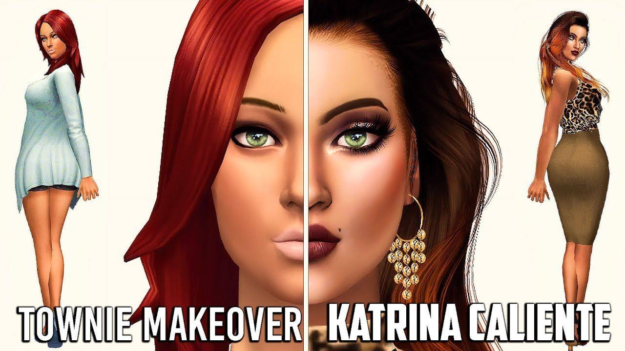 The Sims 4 |Townie Makeover with Alerii | Katrina Calienté +
