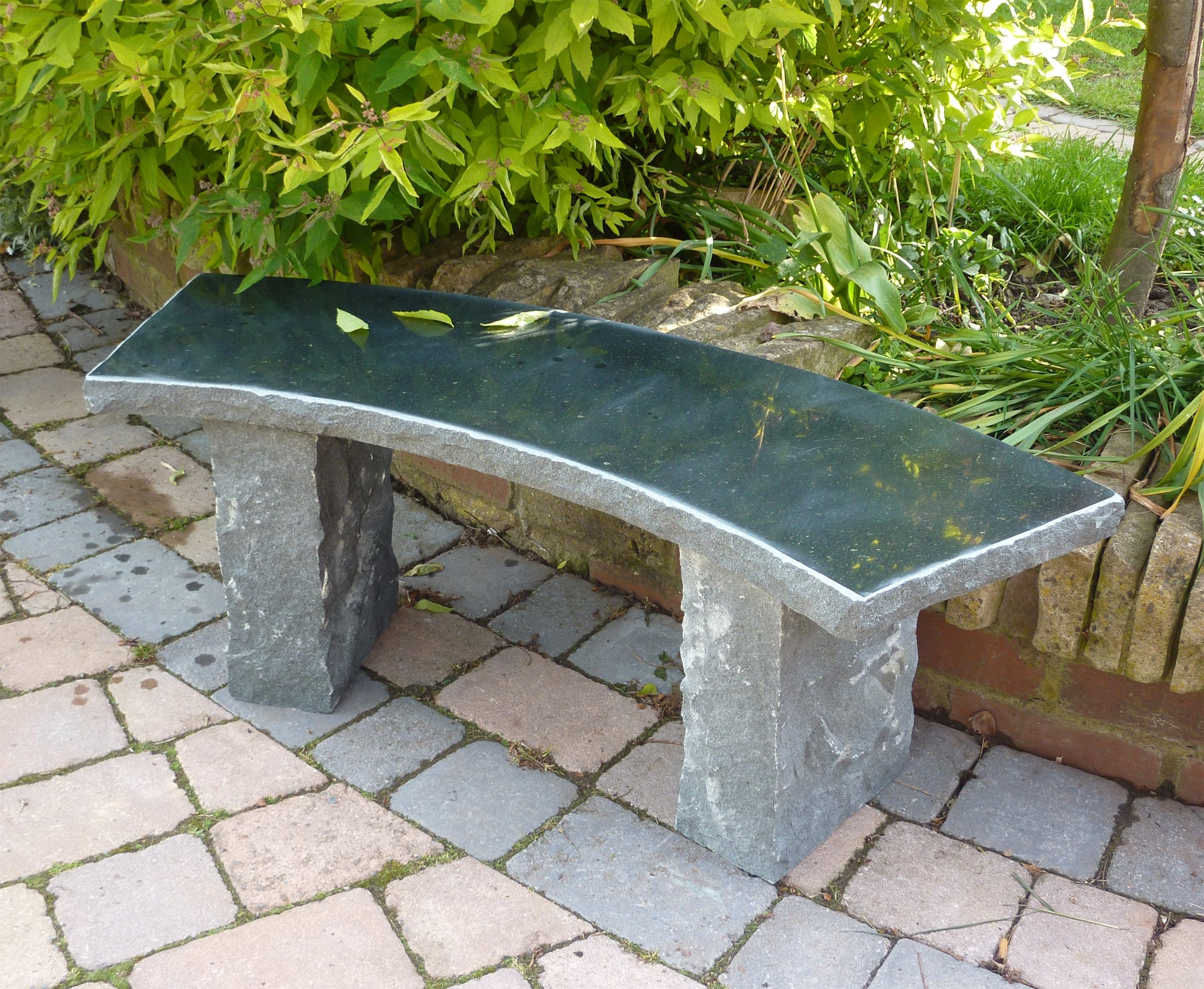 Large Garden Benches   Windsor Polished Granite Stone Bench. Buy Now At  Http:/
