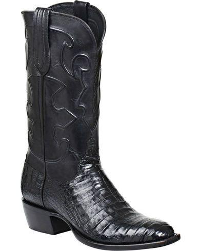 3c7f81de88df4 Lucchese Handmade 1883 Men's Charles Crocodile Belly Cowboy Boots ...